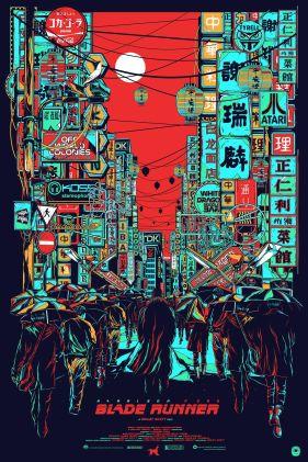Blade Runner poster Paul Lazar