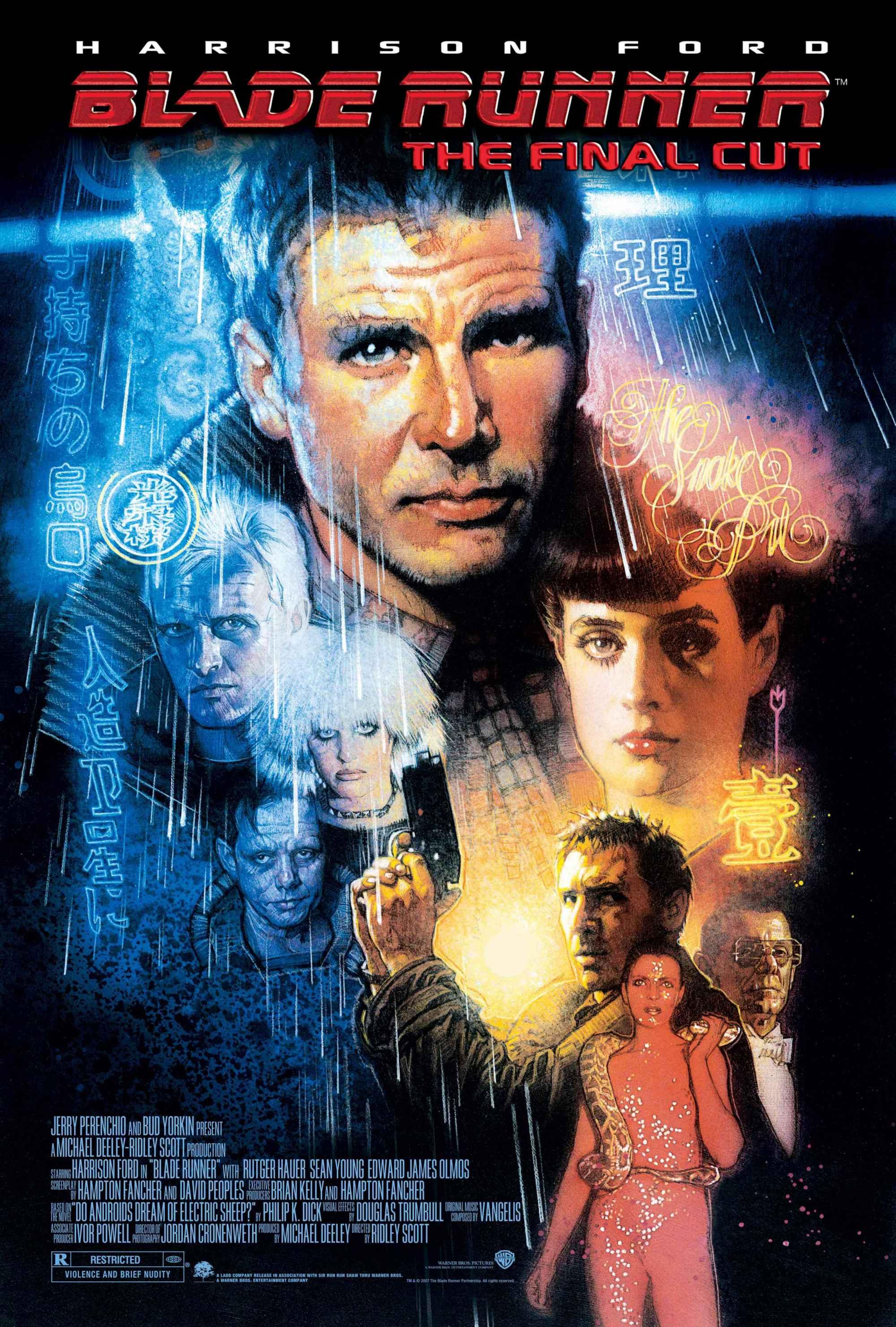 Blade Runner poster The Final Cut