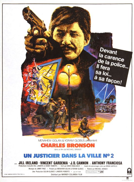 Death Wish II French Poster