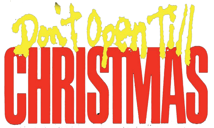 Don't Open Till Christmas logo