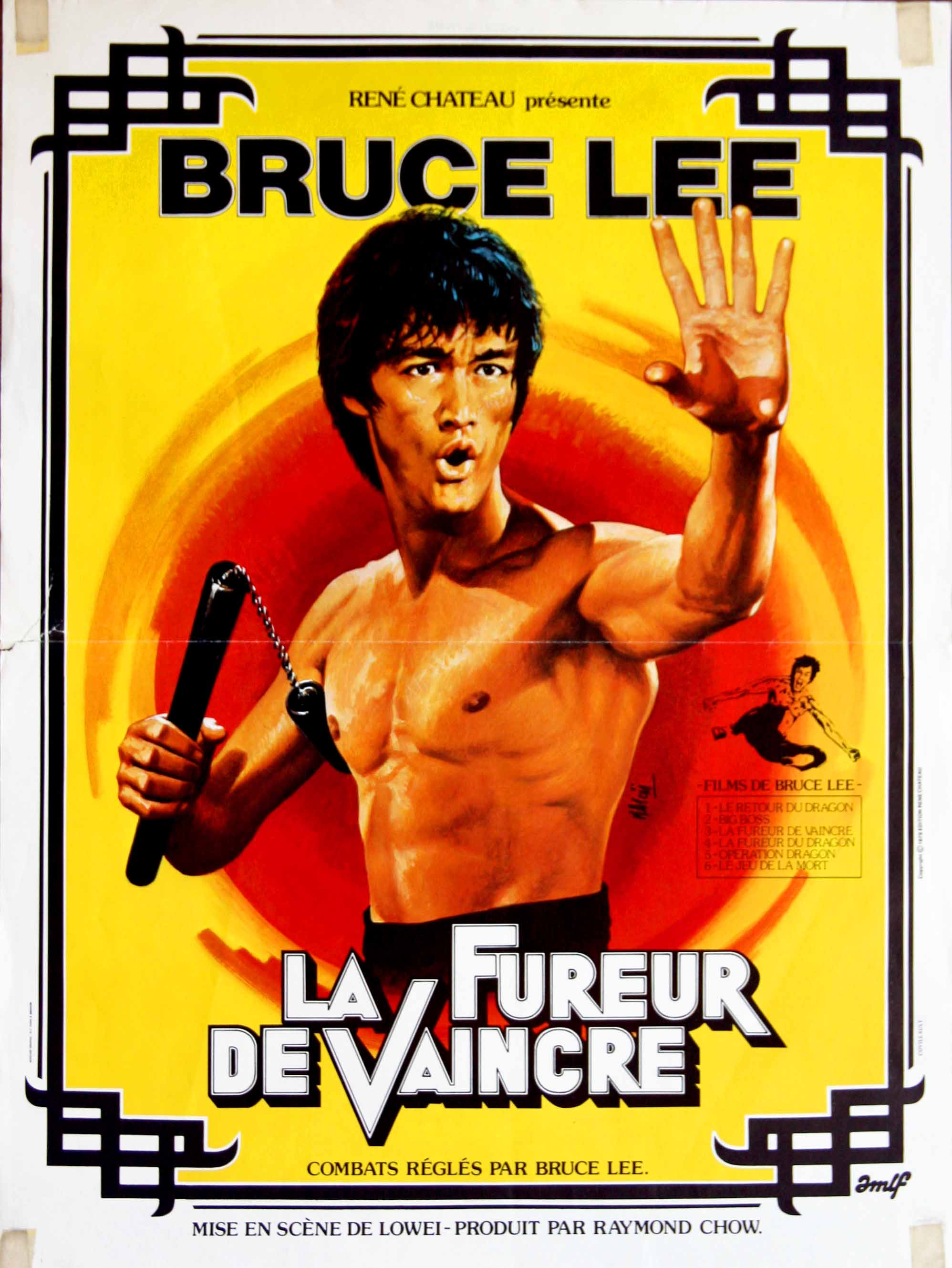 Fist of Fury French poster