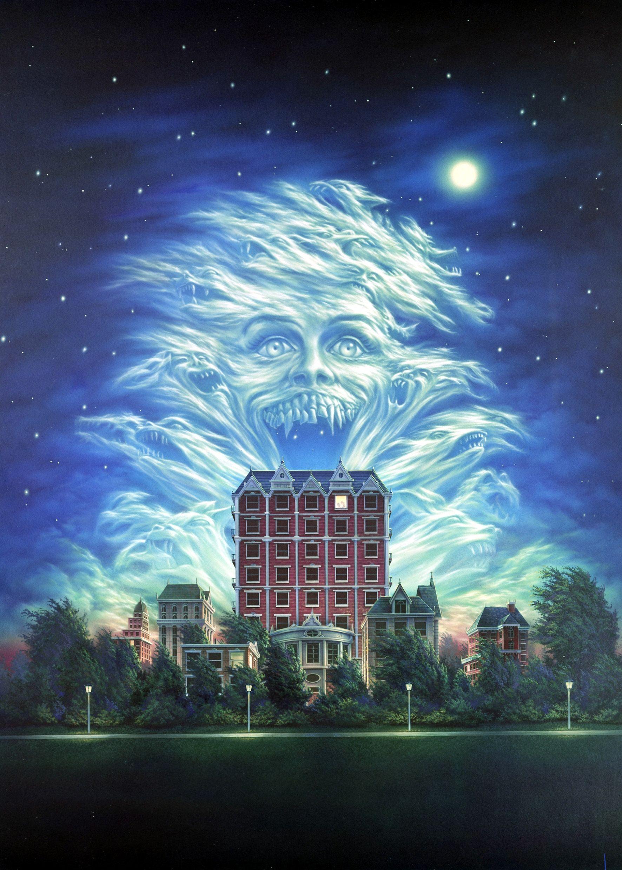 Fright Night Part II original artwork