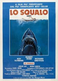 Jaws Italian poster
