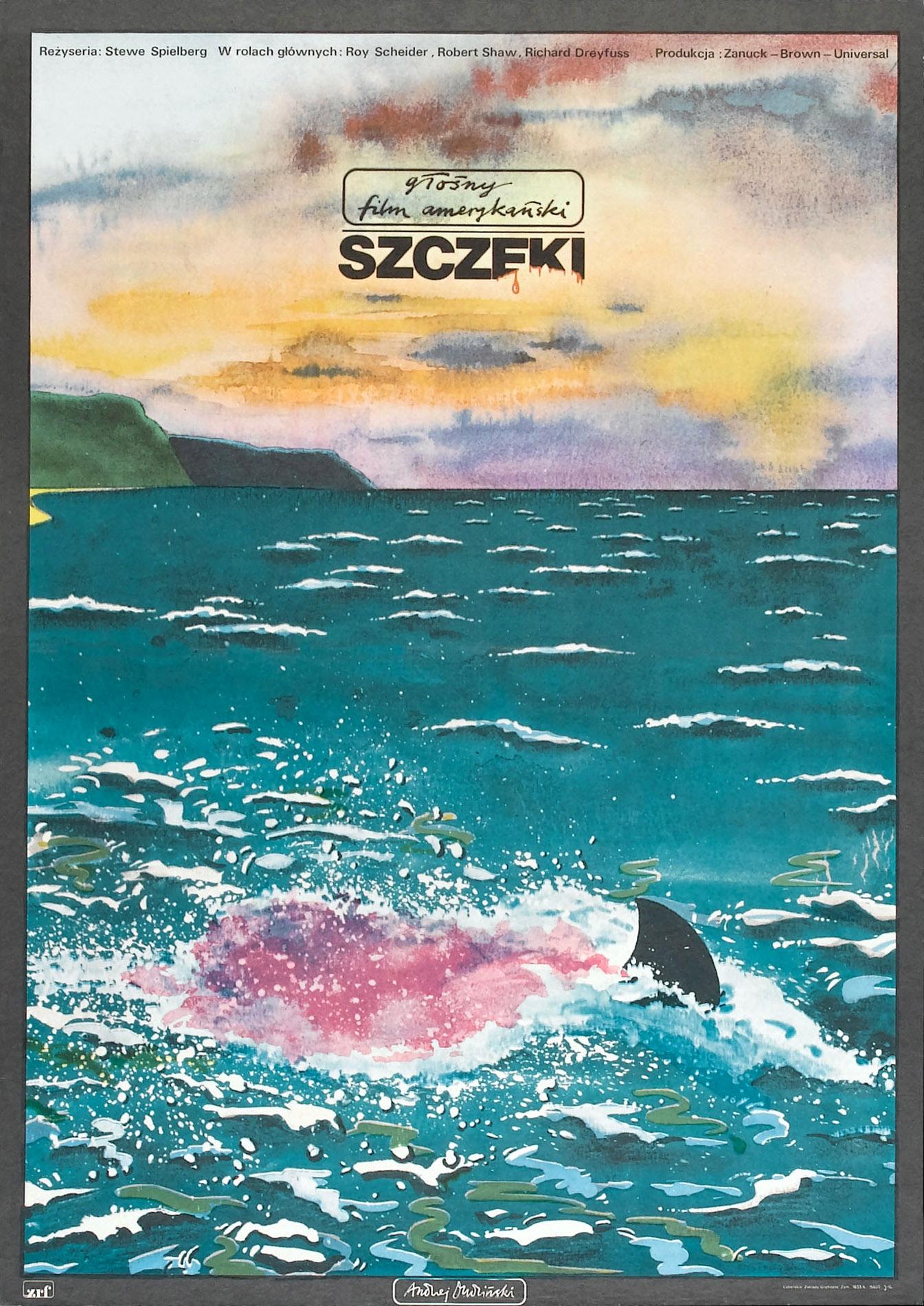 Jaws Polish poster