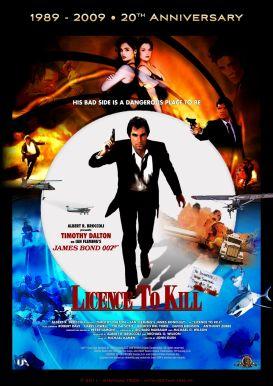Licence to Kill alternate poster
