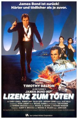 Licence to Kill German poster