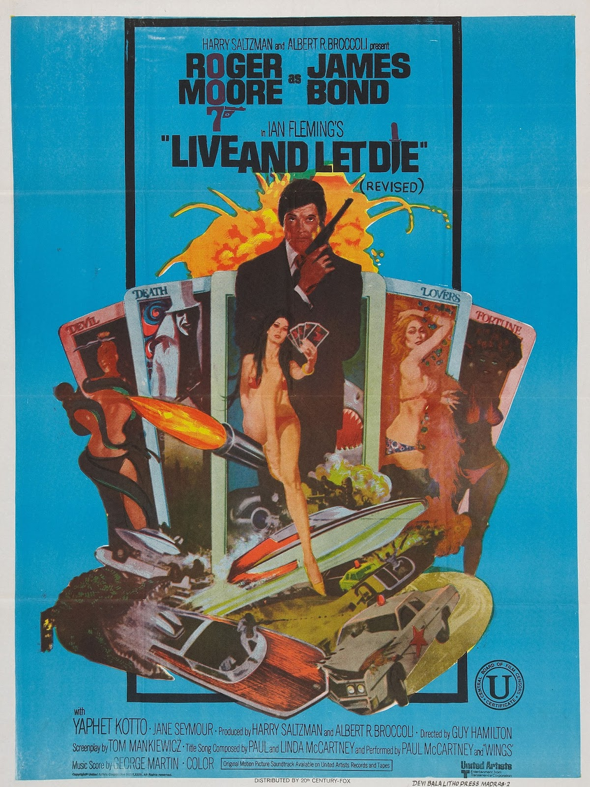 Live and Let Die alternate poster