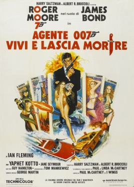 Live and Let Die Spanish poster