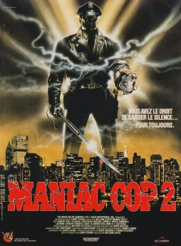 Maniac Cop 2 French poster