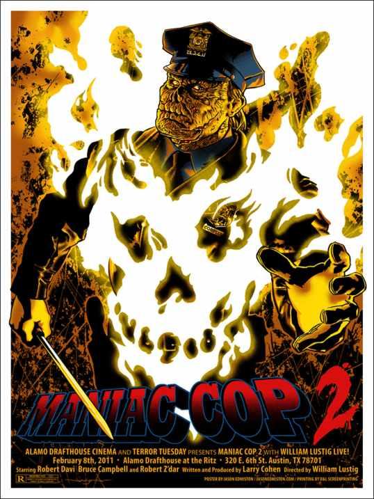 Maniac Cop 2 poster Jamie Edmiston
