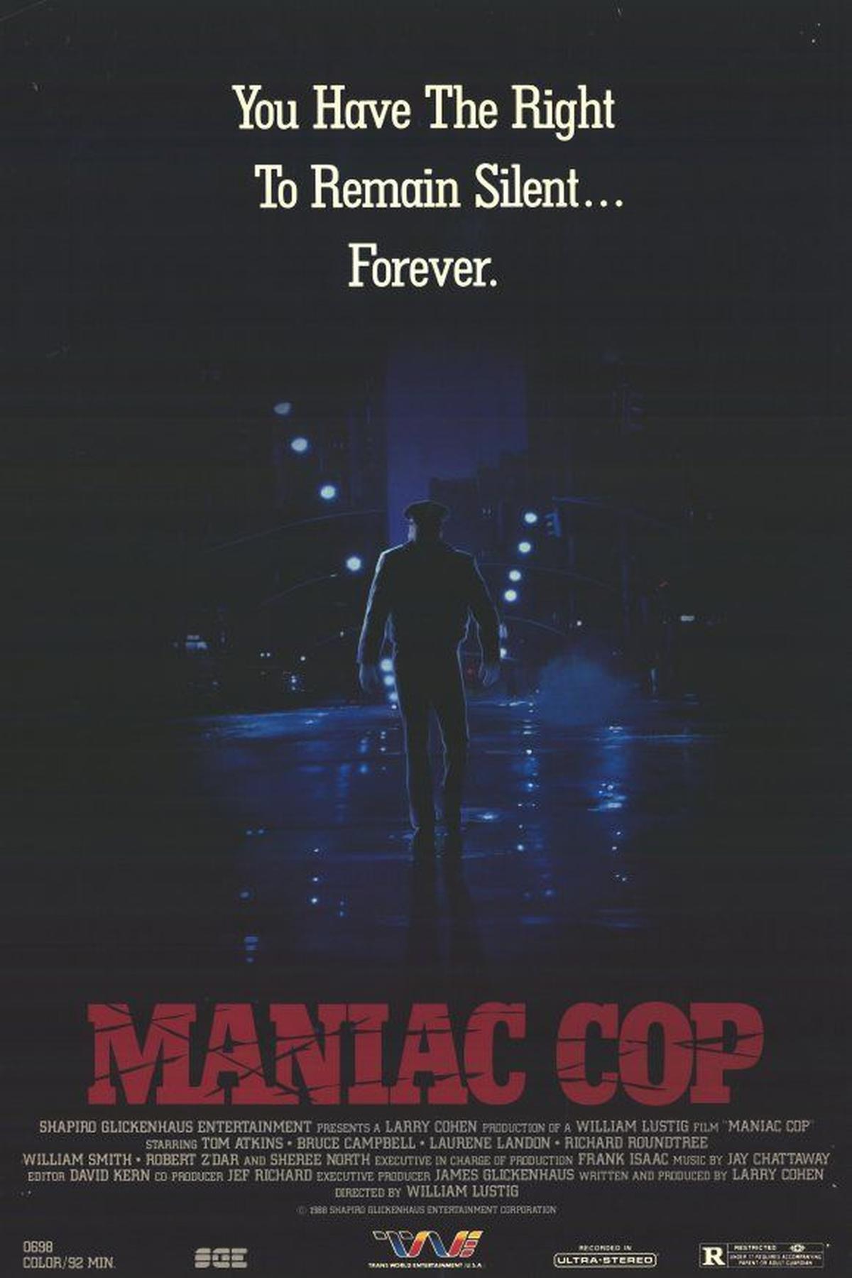 Maniac Cop alternate poster