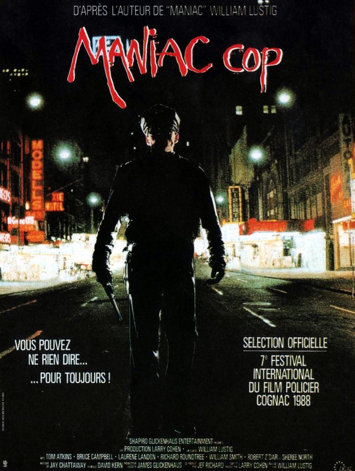 Maniac Cop French poster