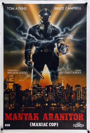Maniac Cop Turkish poster
