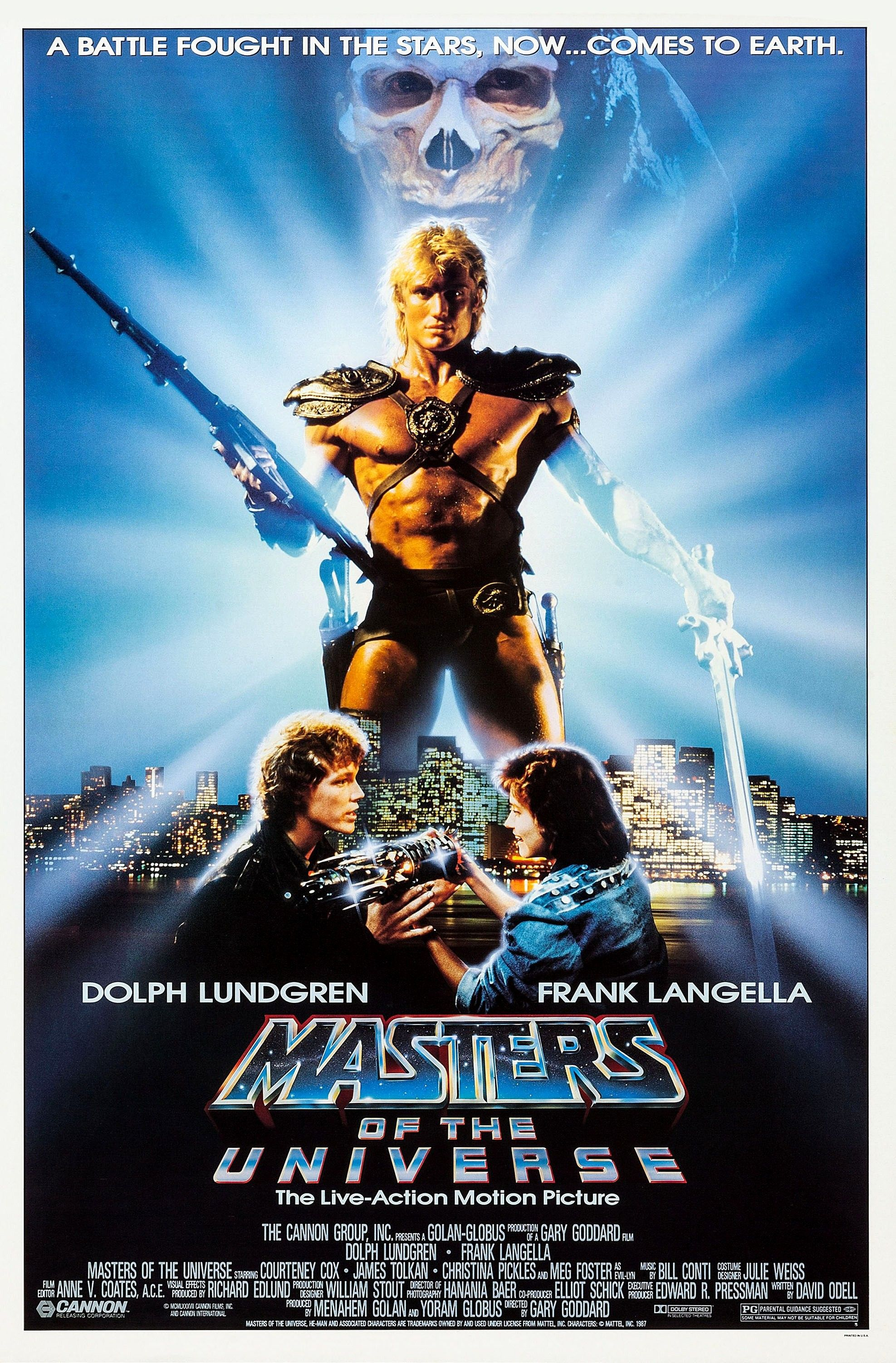 Masters of the Universe alternate poster