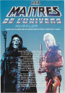 Masters of the Universe French promo