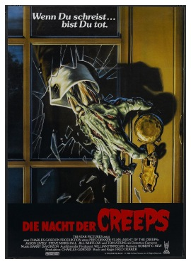Night of the Creeps German poster