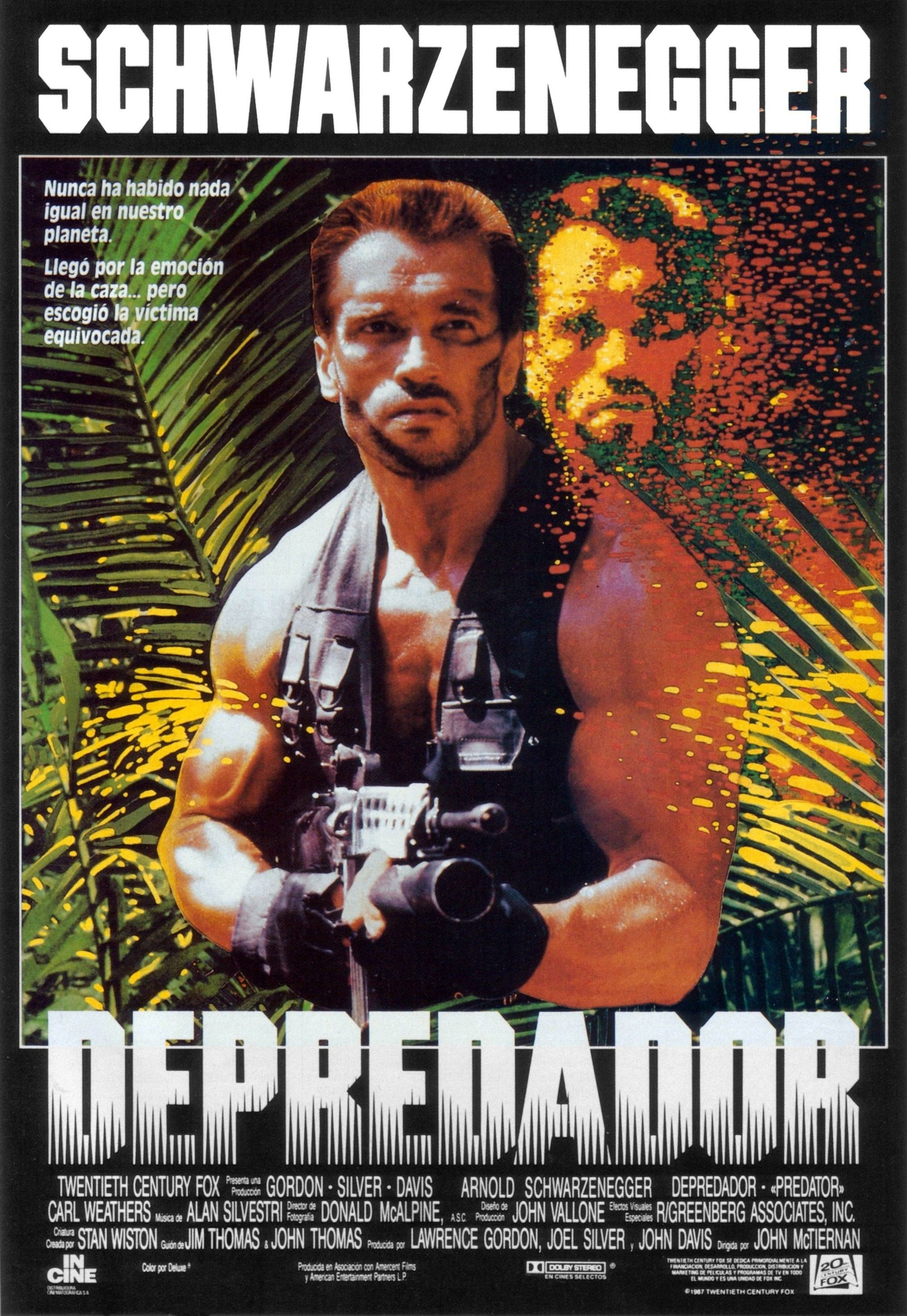 Predator Spanish poster