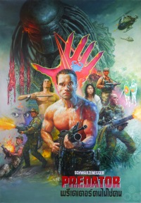 Predator Thai poster