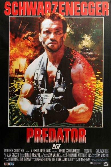 Predator Turkish poster