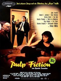 Pulp Fiction German poster