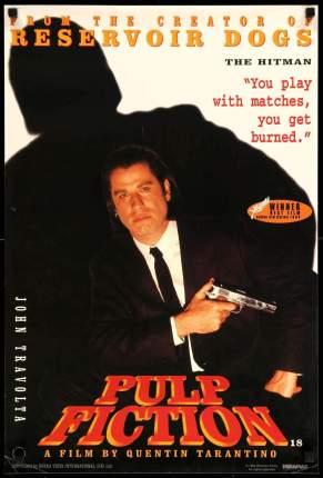 Pulp Fiction original film art 2