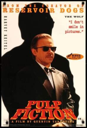 Pulp Fiction original film art