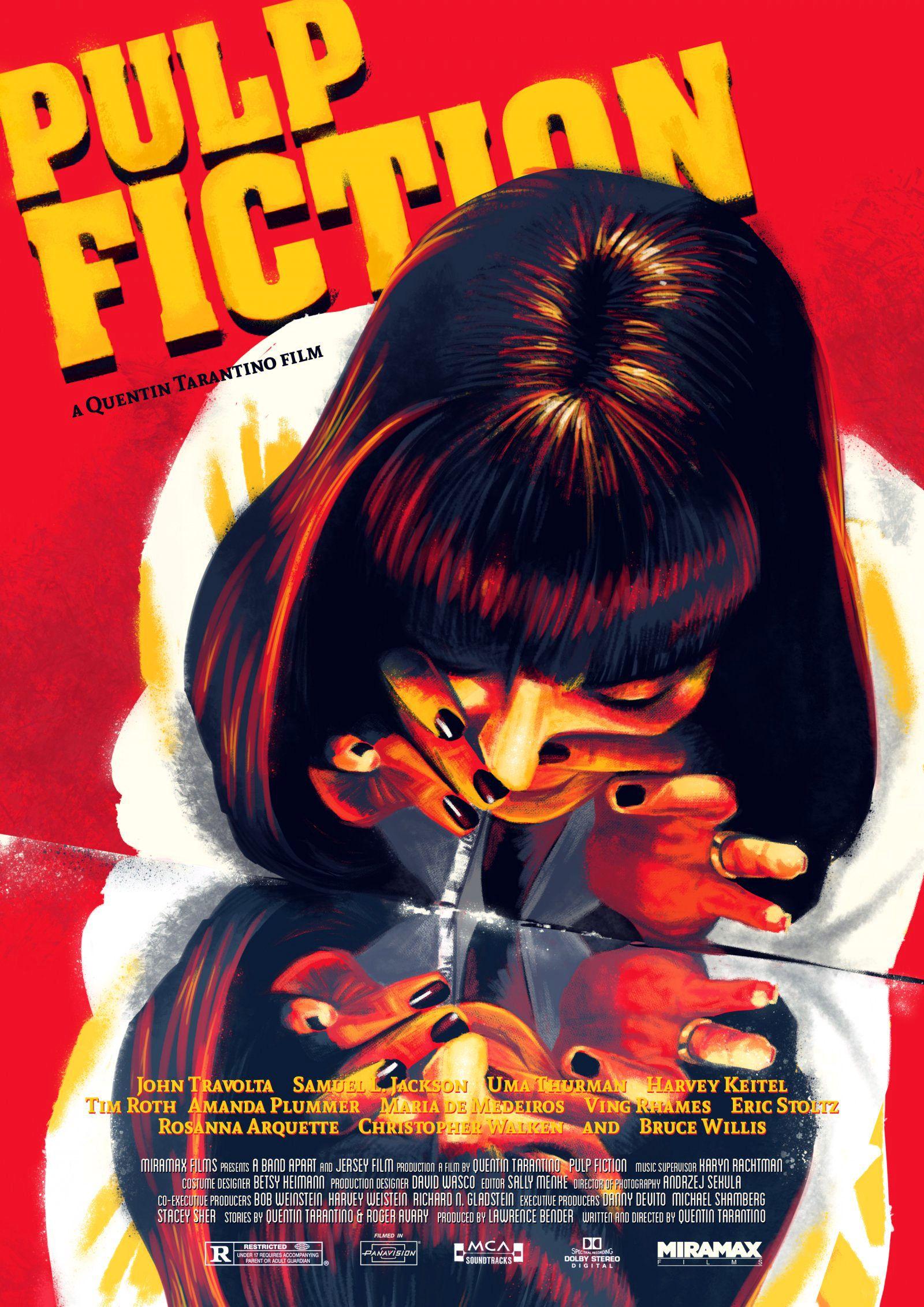 Pulp Fiction poster Paul Gates