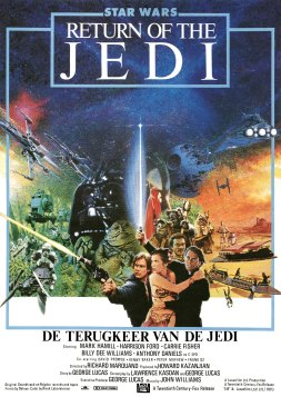 Return of the Jedi Dutch poster