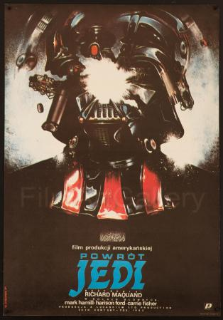 Return of the Jedi Polish poster