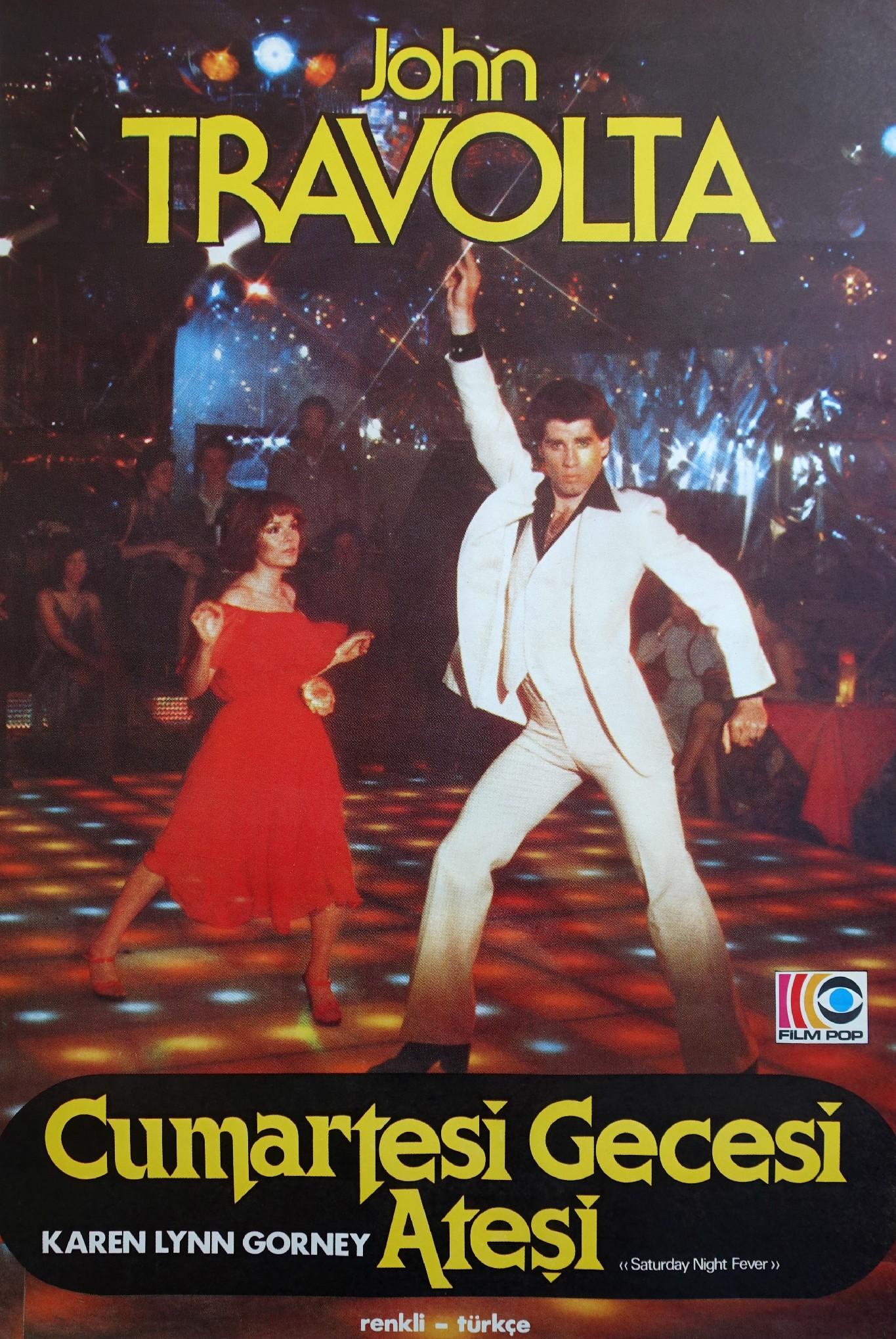 Saturday Night Fever Turkish Poster