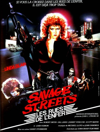 Savage Streets French poster