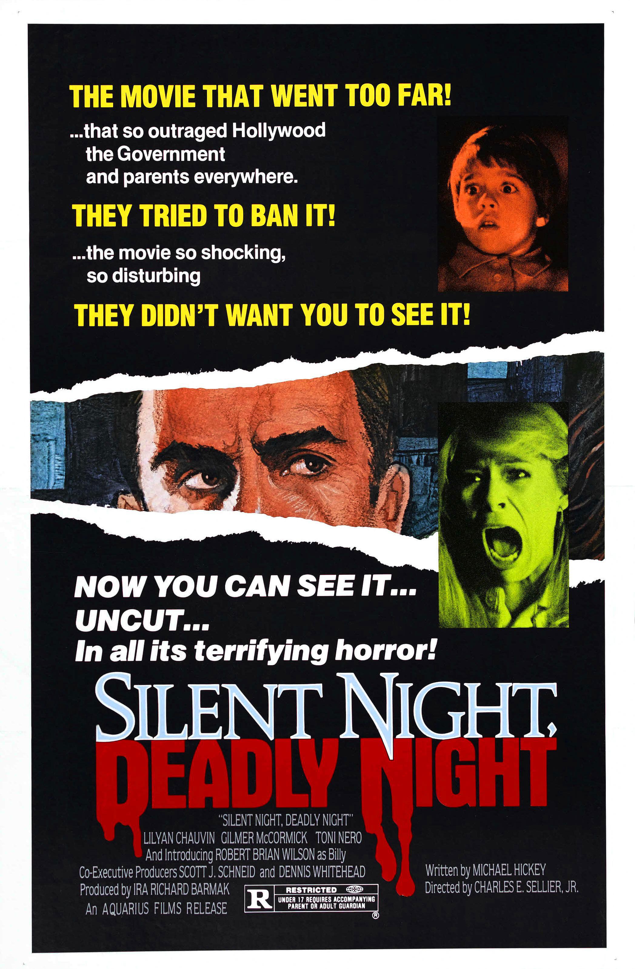 Silent Night Deadly Night alternate poster
