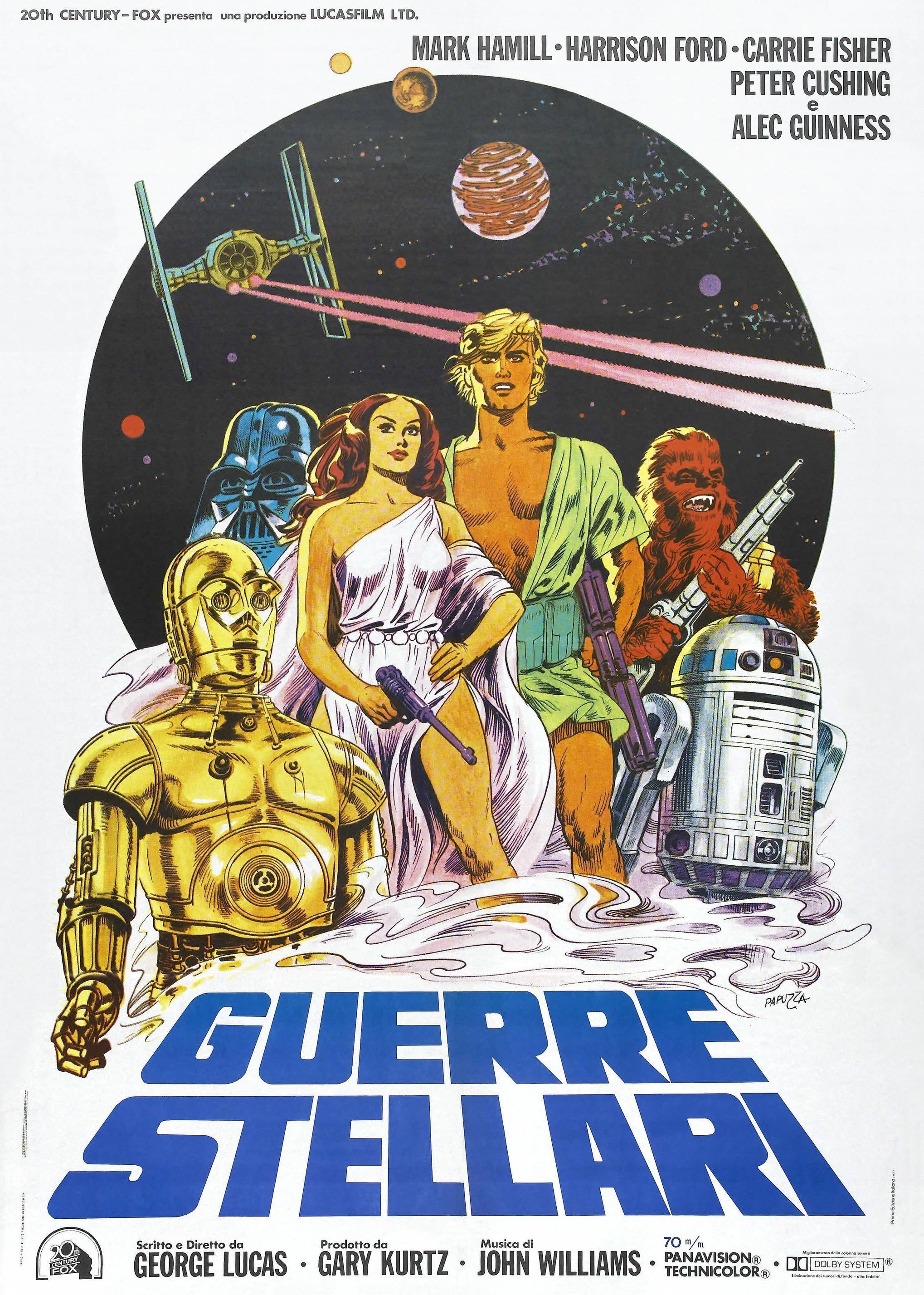 Star Wars A New Hope Italian poster