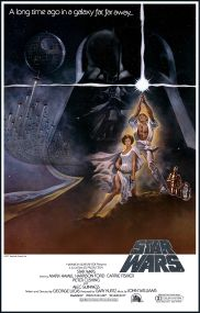 Star Wars A New Hope poster alternate
