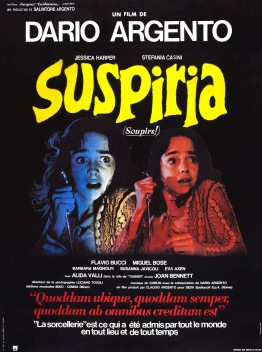 Suspiria French poster
