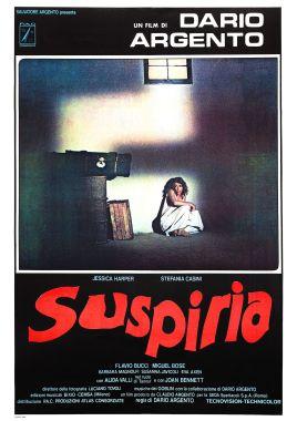 Suspiria Italian poster alternate