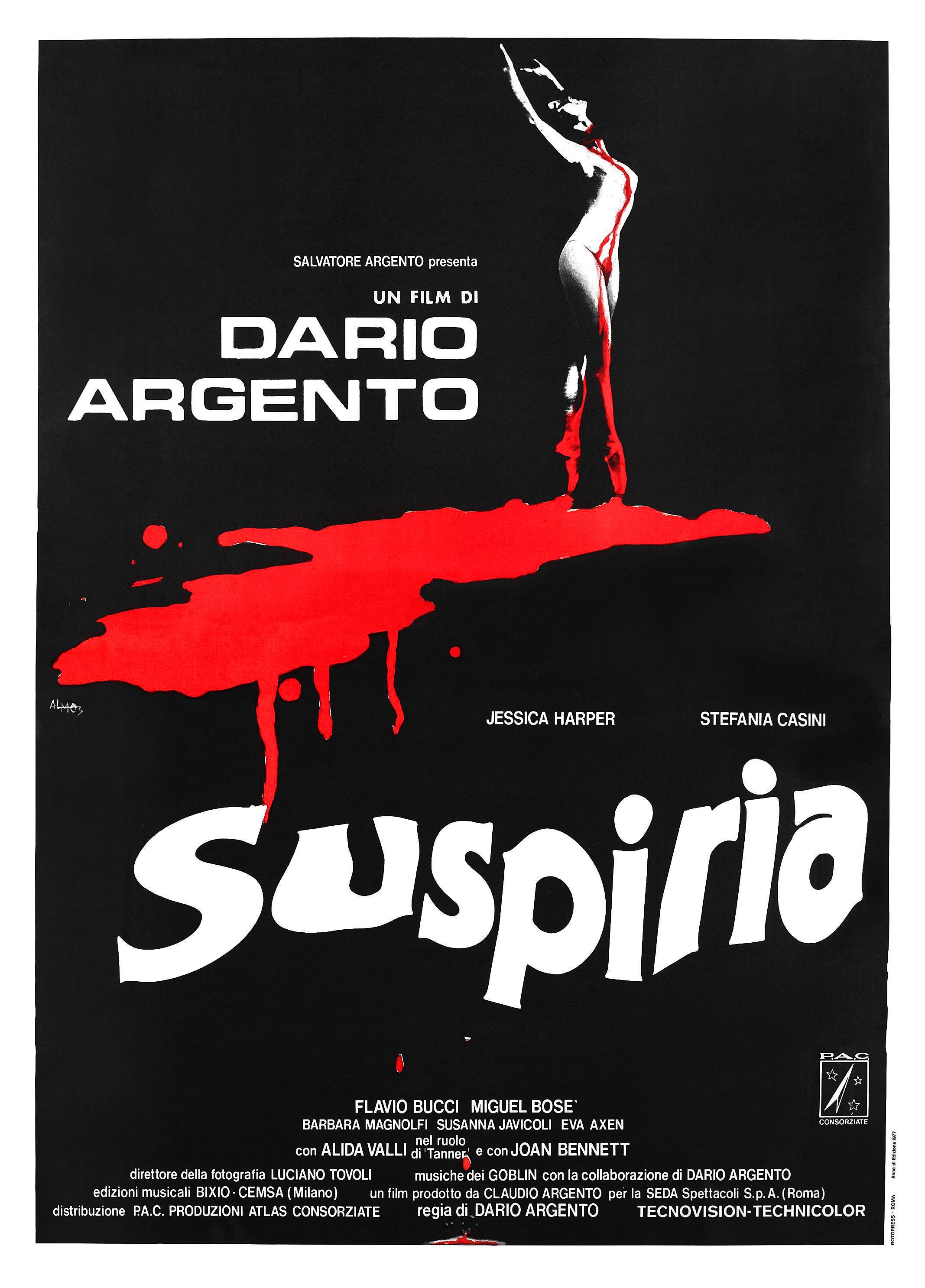 Suspiria Italian poster