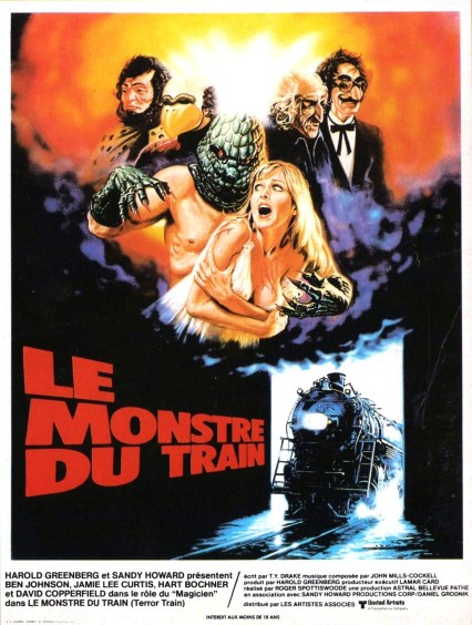 Terror Train French poster