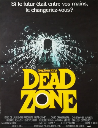 The Dead Zone French poster