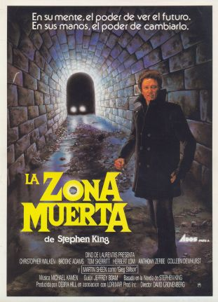 The Dead Zone Spanish poster