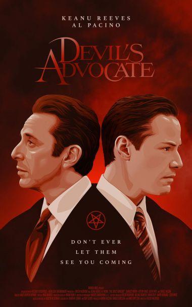 The Devil's Advocate alternate poster