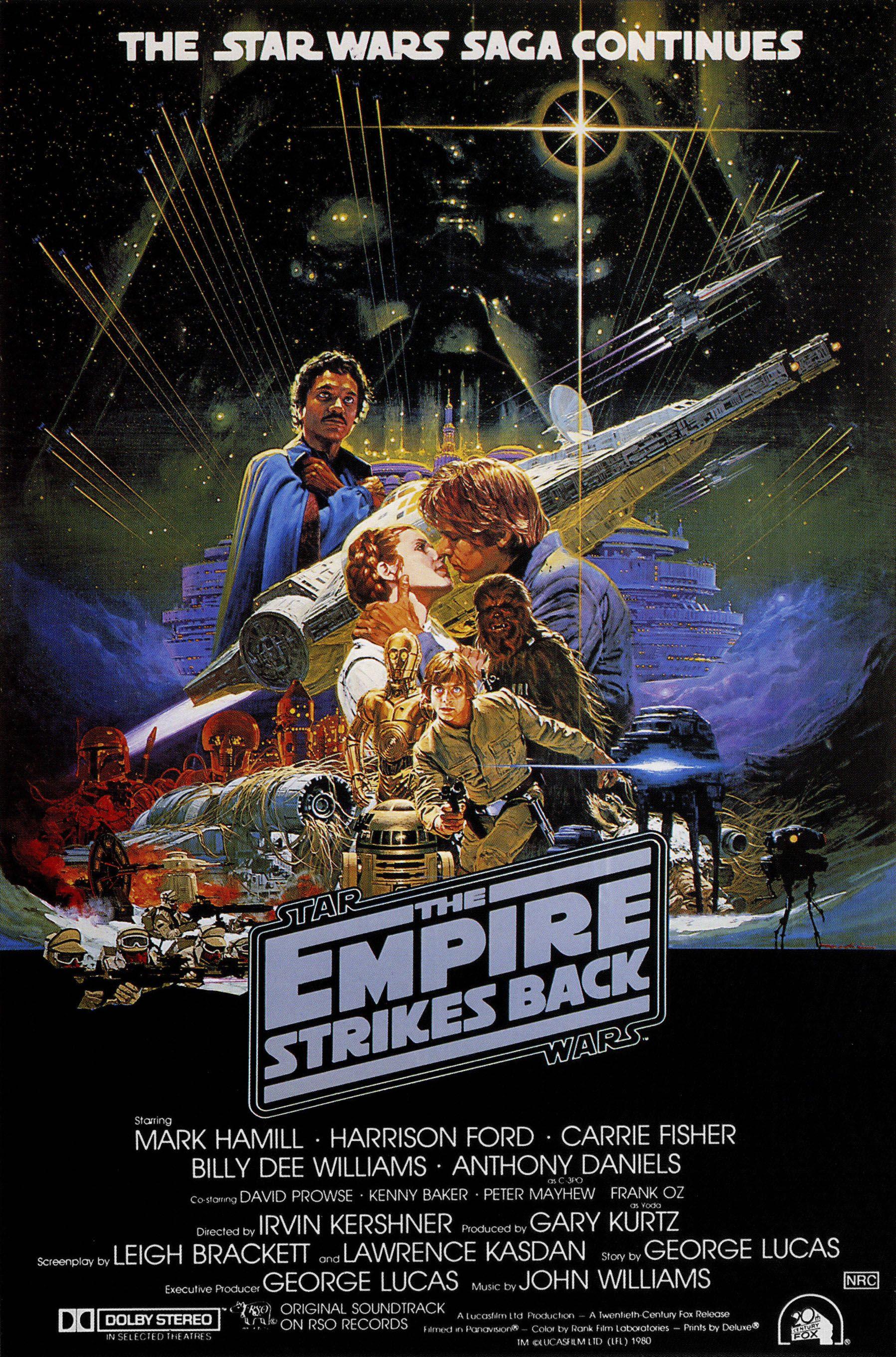 The Empire Strikes Back alternate poster 2