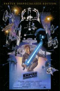 The Empire Strikes Back alternate poster 3