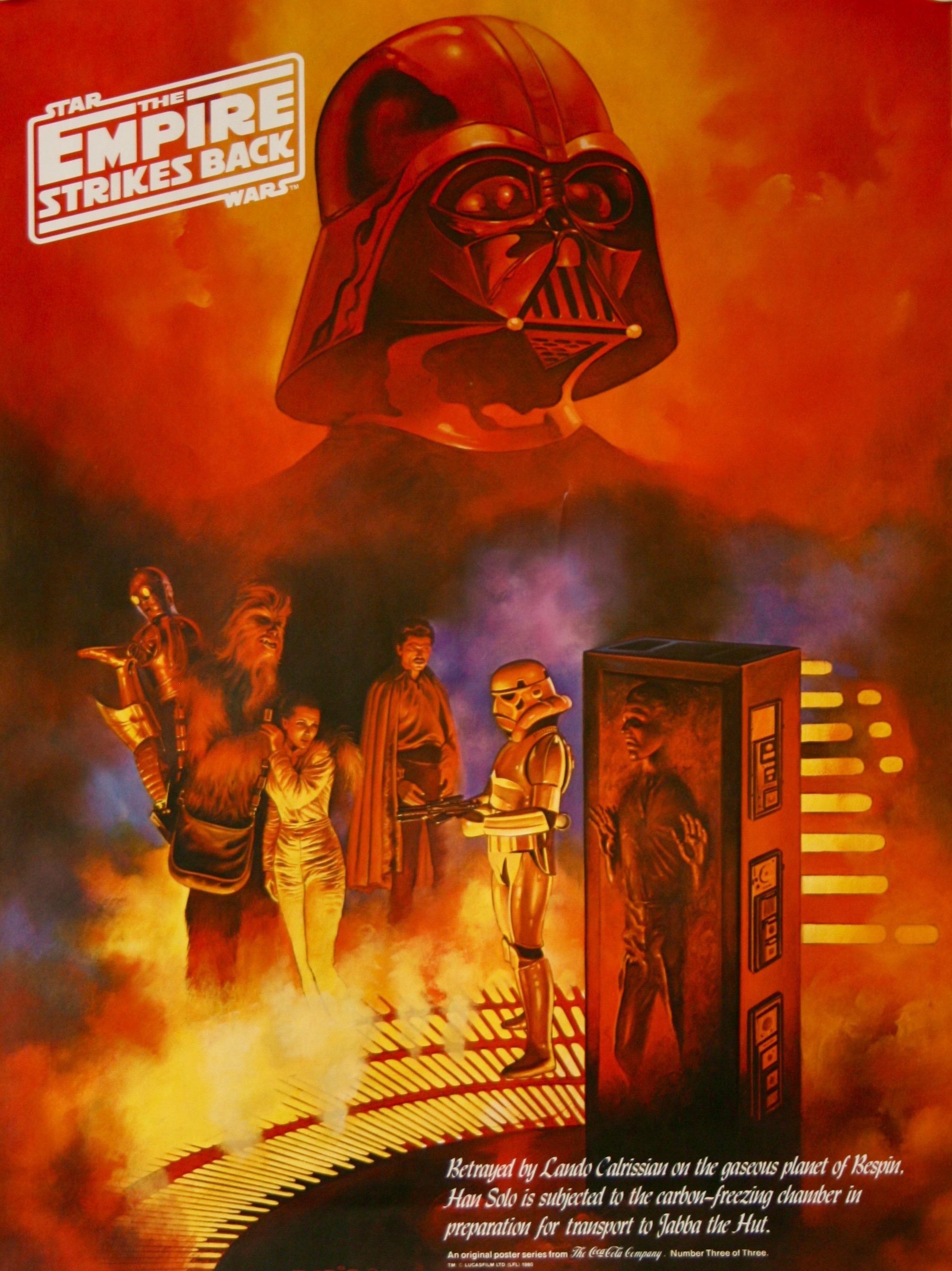 The Empire Strikes Back Coca-Cola commissioned 3 0f 3