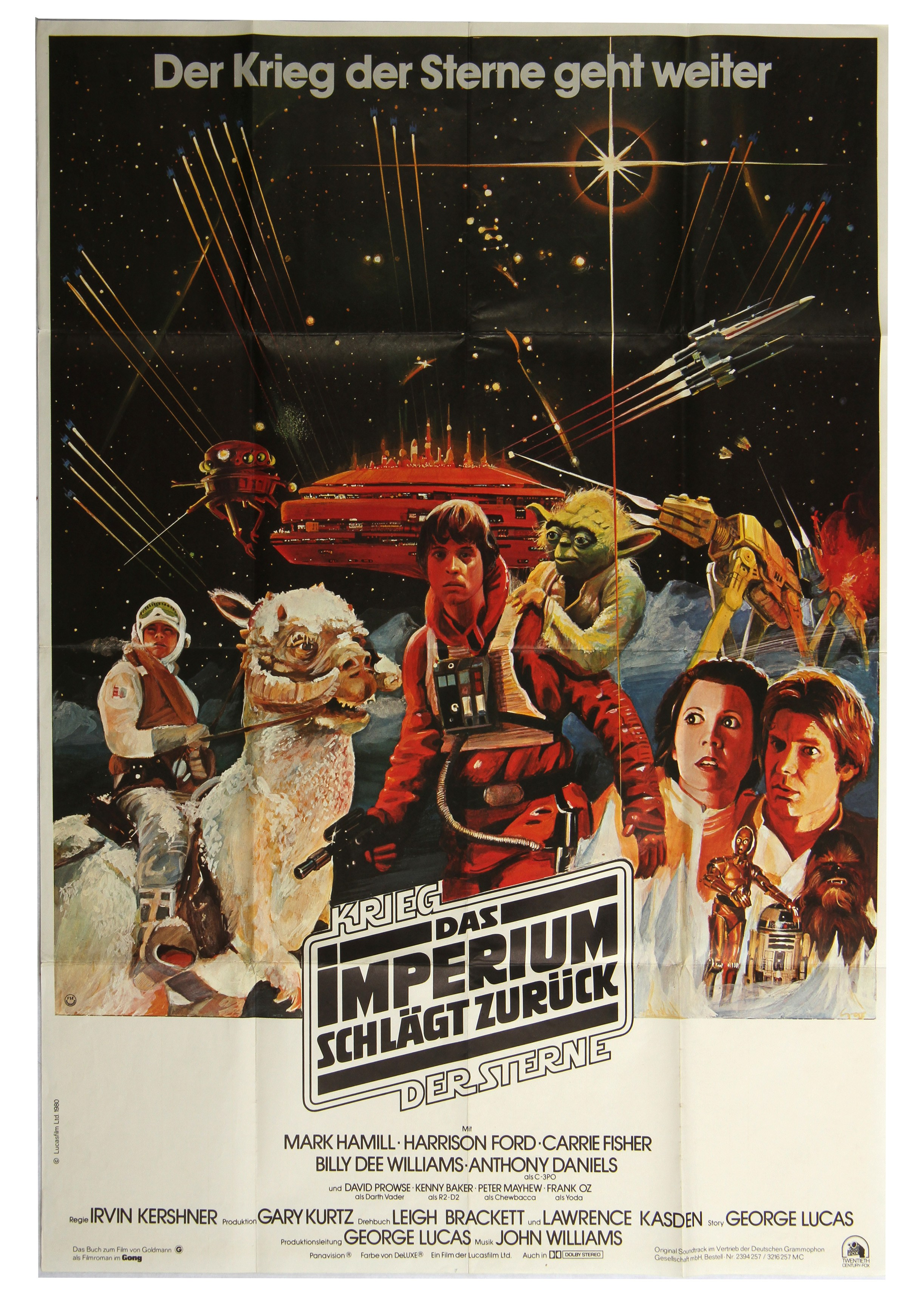 The Empire Strikes Back German poster