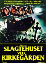 The House by the Cemetery Danish poster