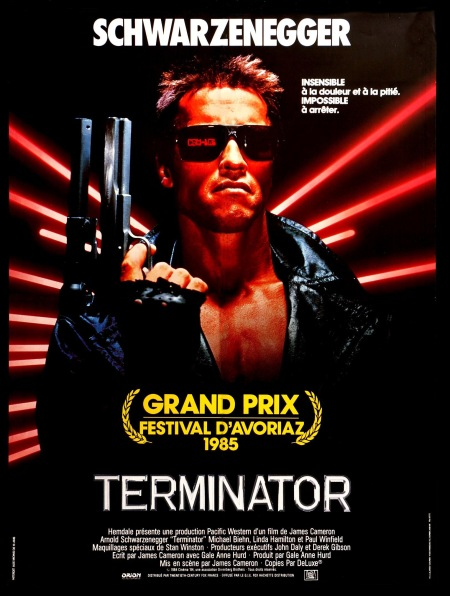 The Terminator French poster