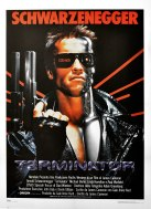 The Terminator Italian poster