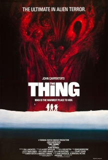 The Thing UK poster