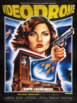 Videodrome French Poster